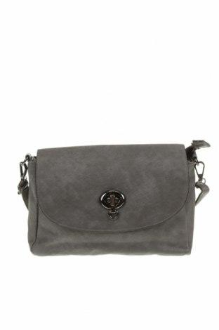 Дамска чанта, Цвят Сив, Еко кожа, Цена 12,10лв.