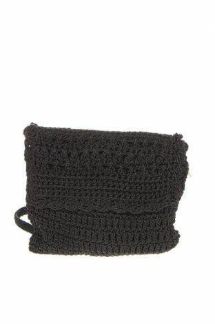 Дамска чанта, Цвят Черен, Текстил, Цена 5,78лв.