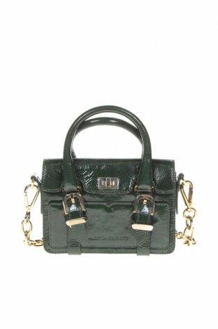 Γυναικεία τσάντα Alberta Ferretti, Χρώμα Πράσινο, Γνήσιο δέρμα, Τιμή 149,39€