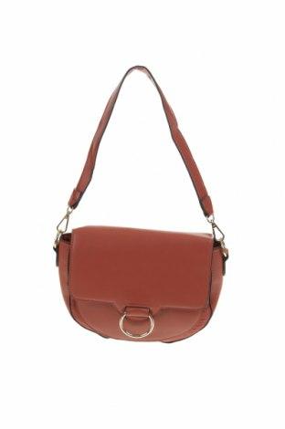 Дамска чанта Anko, Цвят Кафяв, Еко кожа, Цена 15,53лв.