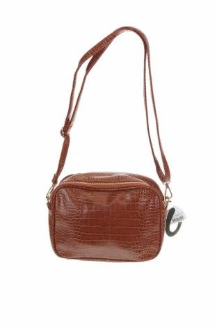 Дамска чанта Anko, Цвят Кафяв, Еко кожа, Цена 30,35лв.