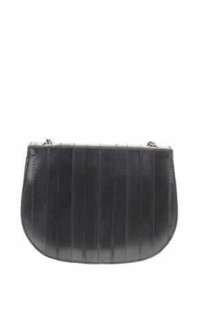 Дамска чанта Becksondergaard, Цвят Син, Естествена кожа, Цена 51,75лв.