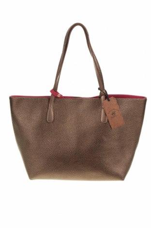 Γυναικεία τσάντα Beverly Hills Polo Club, Χρώμα Καφέ, Δερματίνη, Τιμή 50,30€