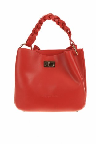 Дамска чанта Beverly Hills Polo Club, Цвят Червен, Еко кожа, Цена 78,32лв.