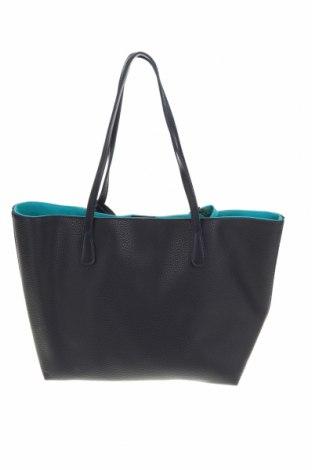 Дамска чанта Beverly Hills Polo Club, Цвят Син, Еко кожа, Цена 99,96лв.