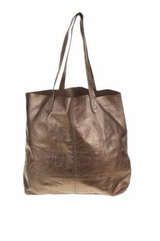 Γυναικεία τσάντα Blanco, Χρώμα Καφέ, Γνήσιο δέρμα, Τιμή 47,17€