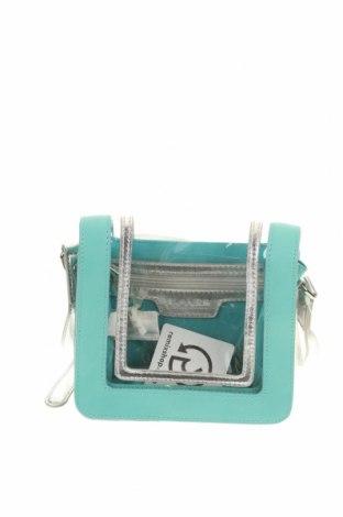 Дамска чанта Blanco, Цвят Син, Еко кожа, полиуретан, Цена 22,05лв.