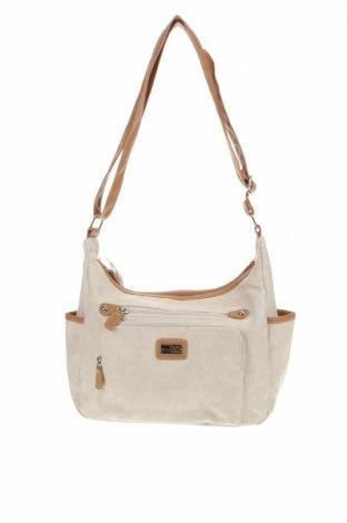 Дамска чанта Cabrelli, Цвят Бял, Еко кожа, Цена 48,88лв.