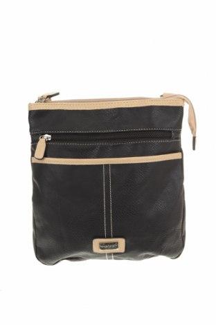 Дамска чанта Cabrelli, Цвят Черен, Еко кожа, Цена 17,06лв.