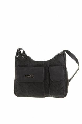 Дамска чанта Classique, Цвят Черен, Текстил, еко кожа, Цена 24,99лв.