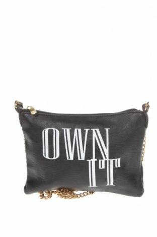 Дамска чанта Colette By Colette Hayman, Цвят Черен, Еко кожа, Цена 19,11лв.