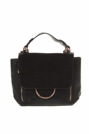 Дамска чанта Colette By Colette Hayman, Цвят Черен, Еко кожа, текстил, Цена 19,15лв.