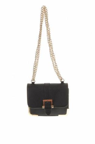 Дамска чанта Forever New, Цвят Черен, Еко кожа, Цена 18,38лв.