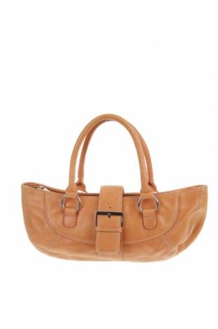 Дамска чанта Fossil, Цвят Бежов, Естествена кожа, Цена 14,49лв.