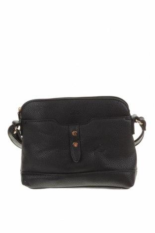 Γυναικεία τσάντα JAG, Χρώμα Μαύρο, Δερματίνη, Τιμή 9,26€