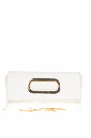 Дамска чанта Kate Hill, Цвят Бял, Еко кожа, Цена 10,40лв.