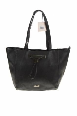 Дамска чанта Kate Hill, Цвят Черен, Еко кожа, Цена 43,37лв.