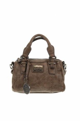 Дамска чанта Lois, Цвят Кафяв, Еко кожа, Цена 45,54лв.