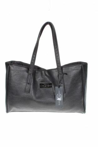 Дамска чанта Luisa Cerano, Цвят Черен, Еко кожа, Цена 68,02лв.