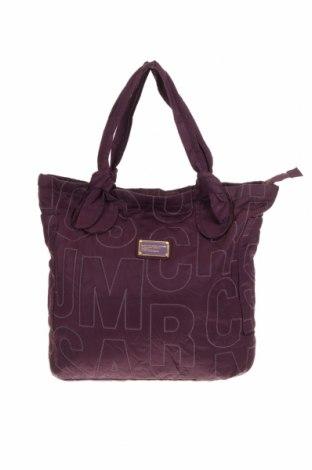 Дамска чанта Marc By Marc Jacobs, Цвят Лилав, Текстил, Цена 90,30лв.