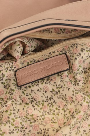 Дамска чанта Marc Picard, Цвят Розов, Еко кожа, Цена 9,19лв.