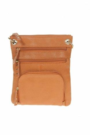 Дамска чанта Marikai, Цвят Кафяв, Еко кожа, Цена 7,56лв.