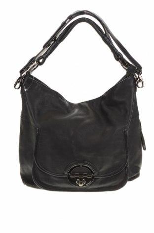 Дамска чанта Mimco, Цвят Черен, Естествена кожа, Цена 95,76лв.