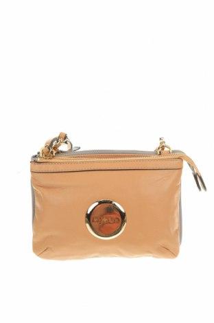 Дамска чанта Mimco, Цвят Бежов, Естествена кожа, Цена 70,09лв.