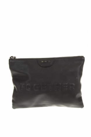 Γυναικεία τσάντα Mimco, Χρώμα Μαύρο, Δερματίνη, κλωστοϋφαντουργικά προϊόντα, Τιμή 10,26€
