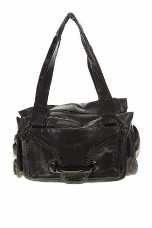 Дамска чанта Mimco, Цвят Черен, Естествена кожа, Цена 85,05лв.
