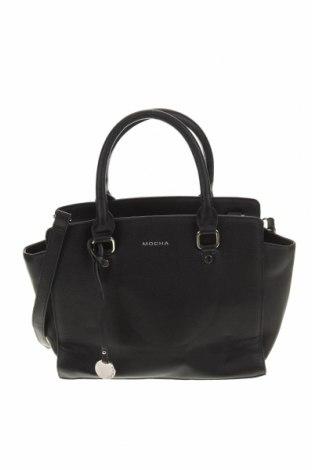 Дамска чанта Mocha, Цвят Черен, Еко кожа, Цена 27,41лв.