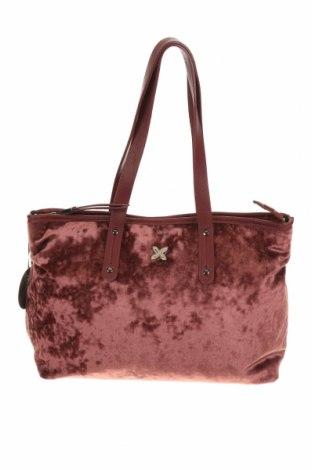 Γυναικεία τσάντα Munich, Χρώμα Κόκκινο, Κλωστοϋφαντουργικά προϊόντα, δερματίνη, Τιμή 19,39€