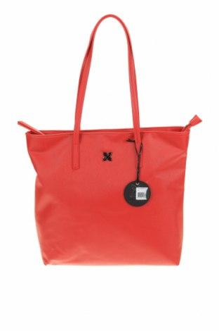Дамска чанта Munich, Цвят Червен, Еко кожа, Цена 59,25лв.