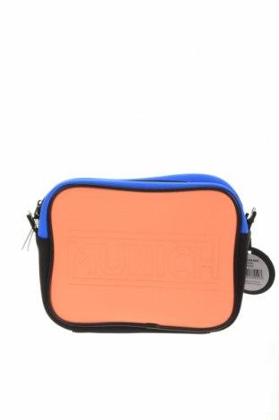 Γυναικεία τσάντα Munich, Χρώμα Πολύχρωμο, Κλωστοϋφαντουργικά προϊόντα, δερματίνη, Τιμή 21,34€