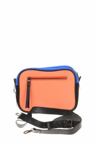 Дамска чанта Munich, Цвят Многоцветен, Текстил, еко кожа, Цена 51,75лв.