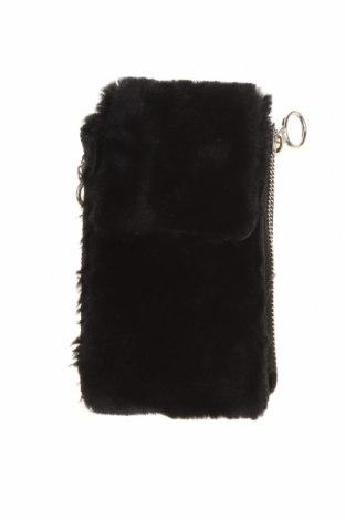 Γυναικεία τσάντα Stradivarius, Χρώμα Μαύρο, Κλωστοϋφαντουργικά προϊόντα, Τιμή 8,64€