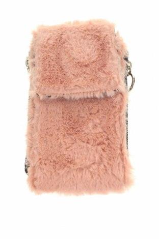 Γυναικεία τσάντα Stradivarius, Χρώμα Ρόζ , Κλωστοϋφαντουργικά προϊόντα, Τιμή 8,84€