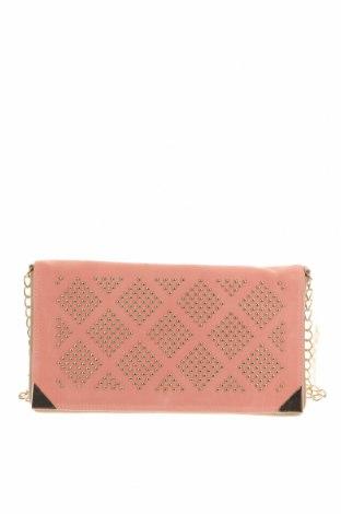 Дамска чанта Suite Blanco, Цвят Розов, Текстил, еко кожа, Цена 36,75лв.