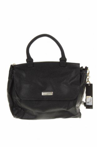 Дамска чанта Tahari, Цвят Черен, Еко кожа, Цена 122,17лв.