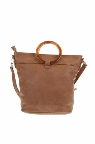 Дамска чанта Target, Цвят Кафяв, Еко кожа, Цена 21,32лв.