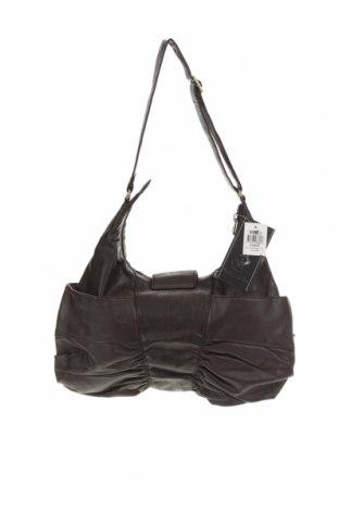 Дамска чанта Unit, Цвят Кафяв, Еко кожа, Цена 30,87лв.