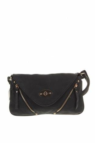 Дамска чанта Valley Girl, Цвят Черен, Еко кожа, Цена 12,43лв.