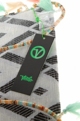 Дамска чанта Verde, Цвят Сив, Текстил, Цена 13,80лв.