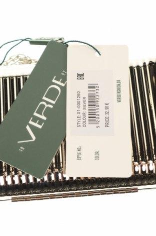 Дамска чанта Verde, Цвят Сив, Метал, Цена 13,57лв.