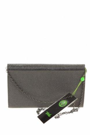 Дамска чанта Verde, Цвят Сив, Текстил, Цена 44,25лв.