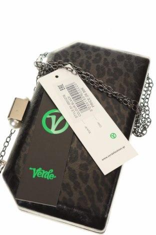 Дамска чанта Verde, Цвят Черен, Текстил, Цена 16,52лв.