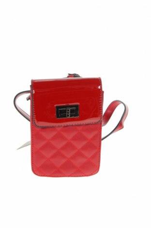 Дамска чанта Verde, Цвят Червен, Еко кожа, Цена 23,60лв.