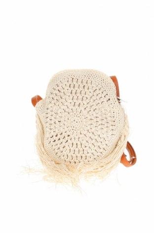 Γυναικεία τσάντα Verde, Χρώμα Εκρού, Κλωστοϋφαντουργικά προϊόντα, Τιμή 8,89€