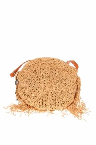 Γυναικεία τσάντα Verde, Χρώμα  Μπέζ, Κλωστοϋφαντουργικά προϊόντα, Τιμή 26,68€