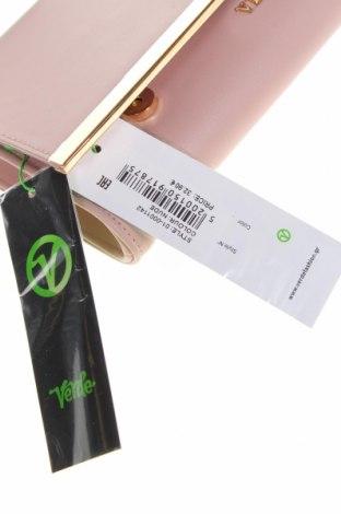 Дамска чанта Verde, Цвят Розов, Еко кожа, Цена 23,60лв.
